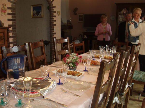 Photos souvenir d'une rencontre tr&egrave&#x3B;s agr&eacute&#x3B;able entre passionn&eacute&#x3B;es de cuisine.