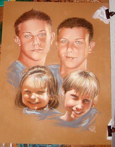 portraits et caricatures