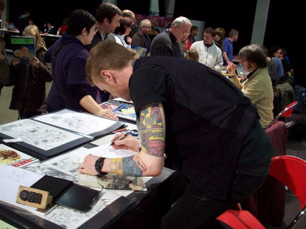 Photos de la Fête de la BD d'Andenne édition 2010