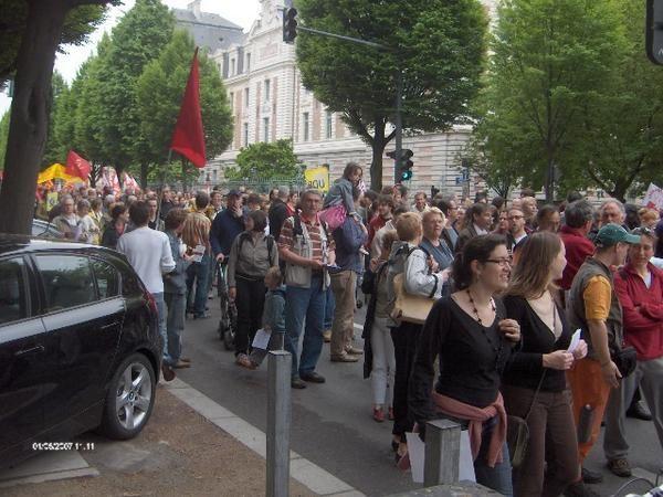 Manifestation intersyndicale