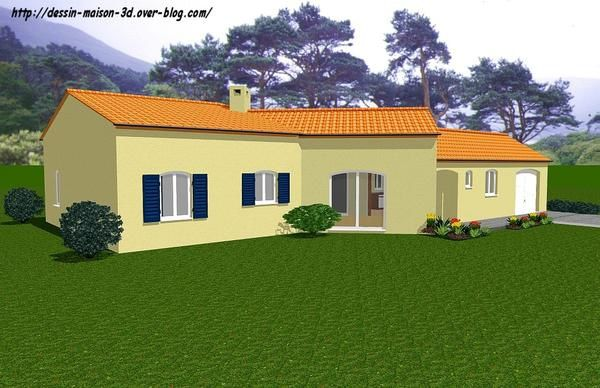 Album les dessins plan et dessin maison 3d for Creer plan maison 3d