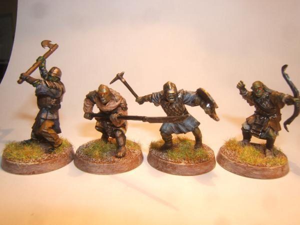 vous trouverez ici les photos de mes figurines du jeu Le Seigneur des Anneaux: le jeu de bataille
