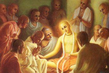 Dans l'âge déchu actuel, l'âge de Kali, le Seigneur Krishna s'incarne en tant que Chaitanya Mahaprabhu, l'Avâtara de miséricorde....