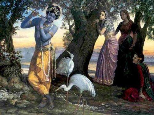 QUi est Dieu? Quelle est cette origine dont tout émane, par quoi tout est maintenu et à la fin détruit? Les Vedas nous réponde: KRISHNA