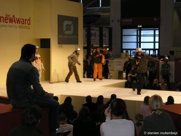 Quelques photos du salon international du sport ISPO 2006