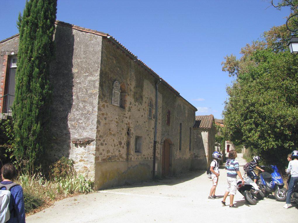 Vues de Clisson (château, halles, églises, rives de la Sèvre nantaise ou de la Moine...) et de la commune adjacente de Gétigné (Parc de La Garenne Lemot). Août 2009.