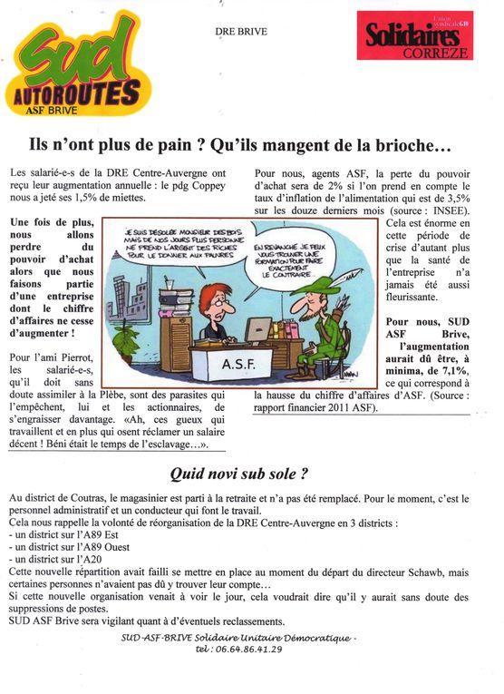 Congrès SUD ASF à Touloule le 14 mai 2007