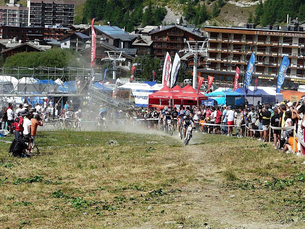 Coupe de france VTT Val d'Isère 23 aout 2009