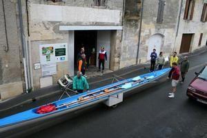 8 Mars 2009 : descente Branne-Libourne entre loisirs de l'ENB et ceux de RAME