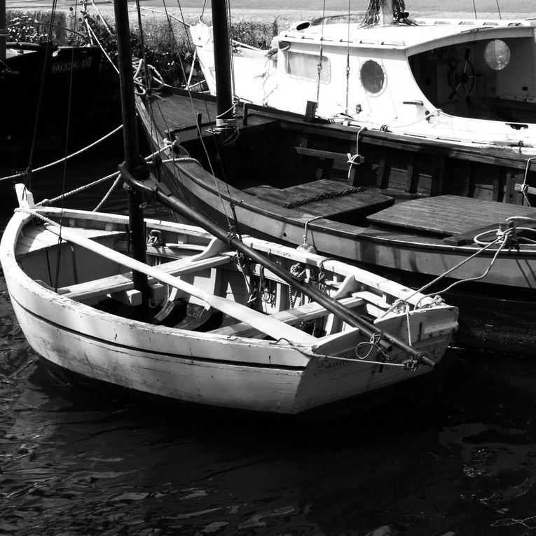 Les Bateaux oubliés de Noirmoutier - Photos Noir et Blanc de Thierry Weber - Photographe La Baule Guérande