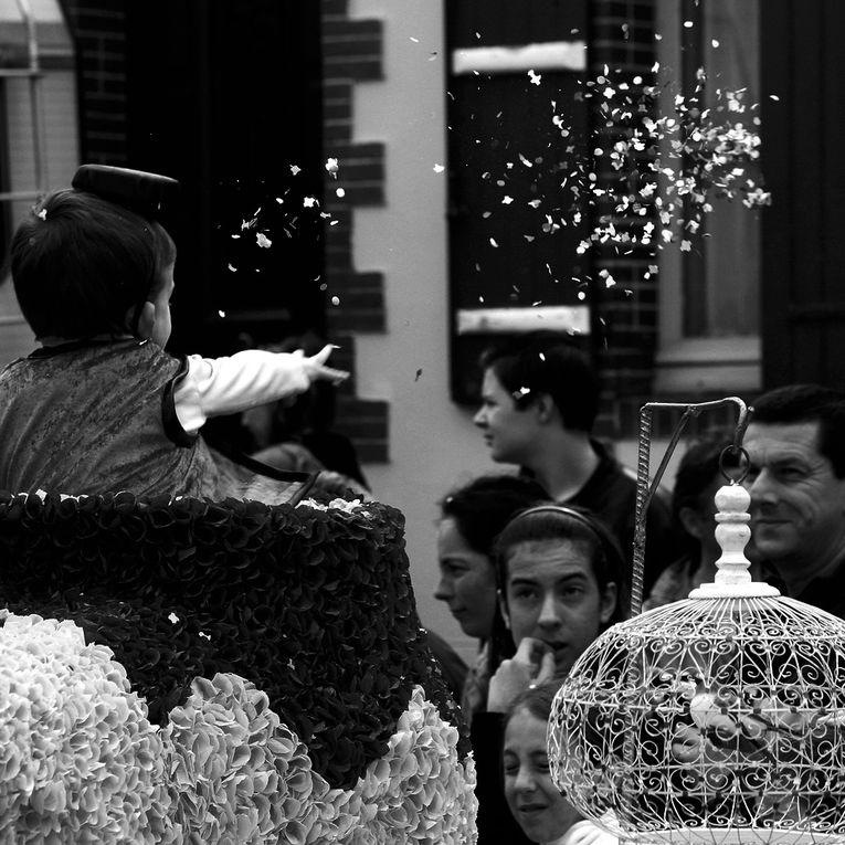 Les photos du carnaval de Pornic 2011 en noir et blanc Thierry Weber
