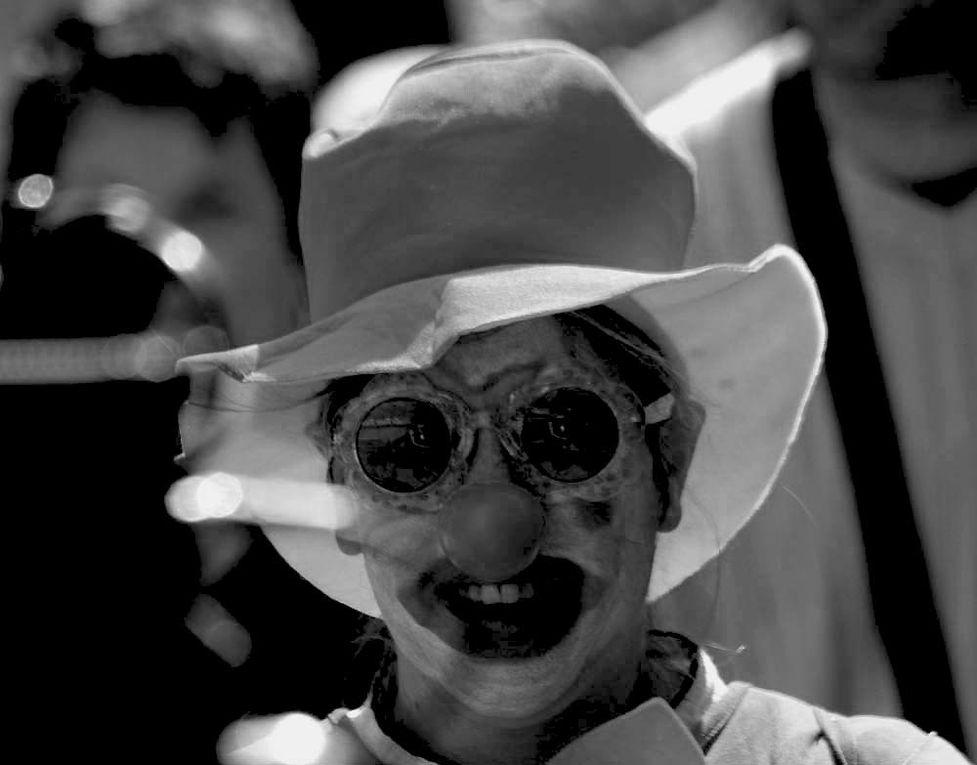 Le Carnaval des Enfants de Nantes 2009 - Photos Noir et Blanc de Thierry Weber - Photographe La Baule Guérande