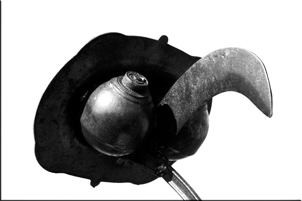 Sculptures Champin 2011 - Photos Noir et Blanc de Thierry Weber - Photographe La Baule Guérande