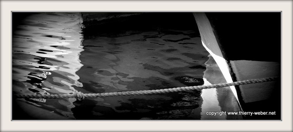 Dans les Ports de Bretagne - Photos Noir et Blanc de Thierry Weber - Photographe La Baule Guérande