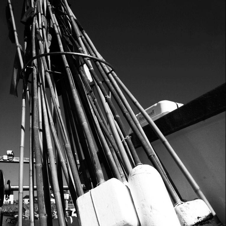 Les carres de ports bretons en noir et blanc - Photos Thierry Weber - Photographe de Mer