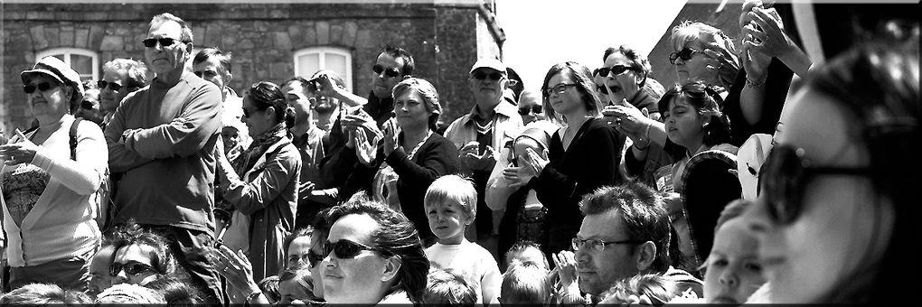 Les Médiévales de Guérande 2011 en noir et blanc et en panoramiques Thierry Weber