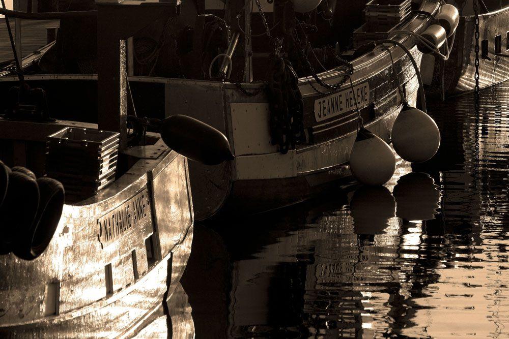 Les Ports Bretons en Sepia - Photos Thierry Weber Photographe de Mer