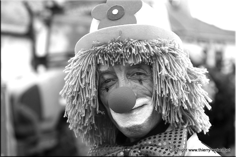 Les visages de carnaval - Photos Thierry Weber