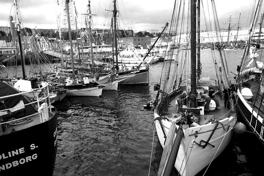 Brest 2008 - Photos Noir et Blanc de Thierry Weber - Photographe La Baule Guérande