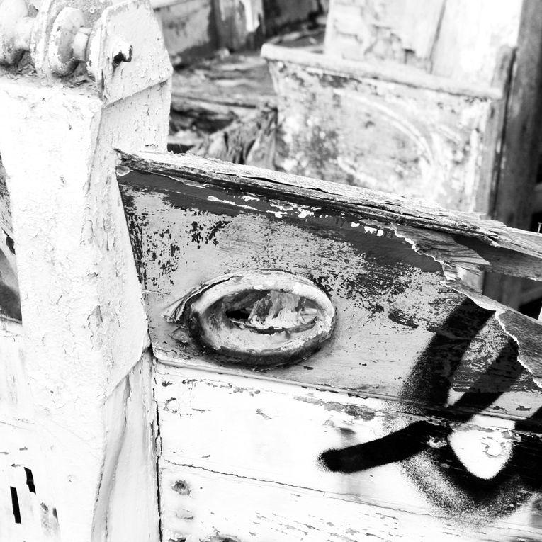 Cimetière de Bateaux à Noirmoutier - Photos Noir et Blanc de Thierry Weber - Photographe La Baule Guérande