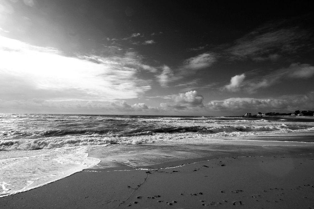 Hiver en Bretagne - Photos Noir et Blanc de Thierry Weber - Photographe La Baule Guérande