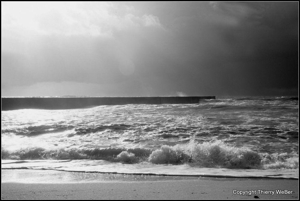 Les tempêtes atlantique de l'année 2014 - Photos Thierry Weber La Baule Guérande