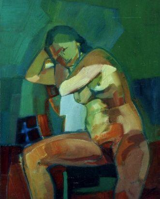 Artiste peintre contemporaine