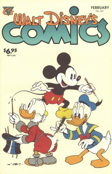 Les couvertures de magazines ou livres sur les BD Disney à travers le Monde