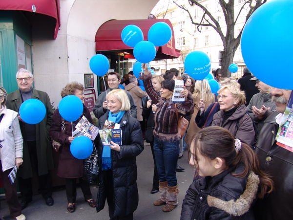 Campagne d'Arnaud Teullé pour les Municipales 2008 à Neuilly sur Seine