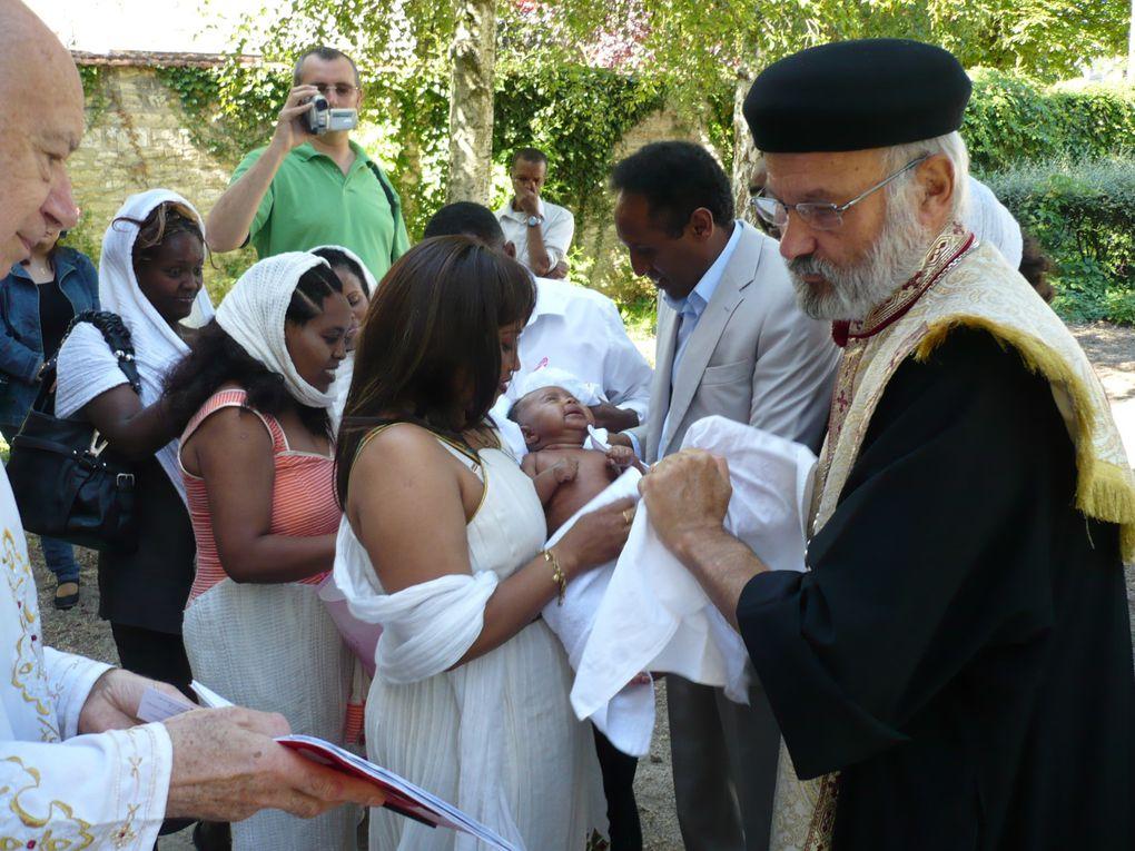 Baptême d'Asmeret, enfant d'origine érythréenne le 29 mai 2011 à l'age de 80 jours.