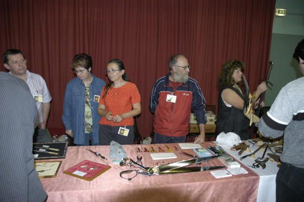 <p>Participation au salon de Thiers les 12 et 13 Mai 2007</p>