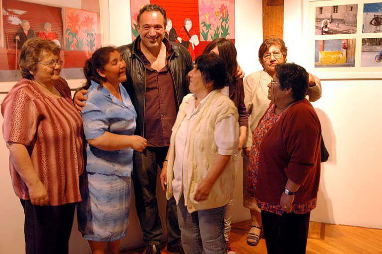 Album - Fotos-vernissage-URBA-LATIN-ARPILLERAS-Santiago-De-Chile