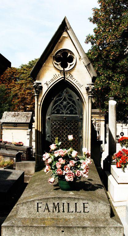Août 2009, visite du cimetière du Père Lachaise à Paris