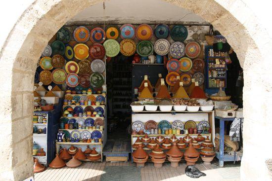 Juin 2008 escale à Essaouira ville côtière du Maroc
