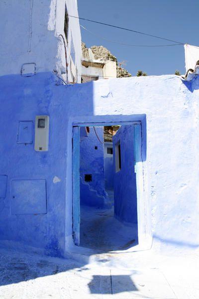 Juin 2008 lors de mes vacances au Maroc, nous nous sommes arrêtés au petit village de Chefchaouen au Nord du Maroc, un village atypique et magnifique !!