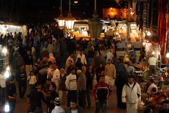 Juin 2008 mon voyage au Maroc commence par Marrakech, la plus grande ville du Sud Marocain...
