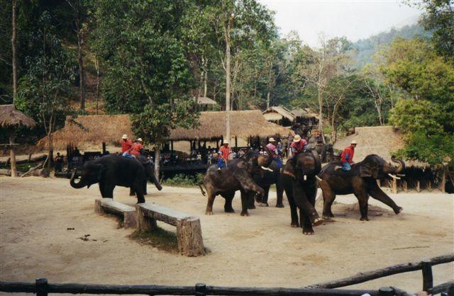 Thailande du nord au sud