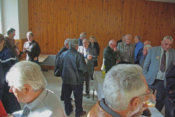 Vebre en AriègeCeremonie du Souvenir 11 novembre 2011Le Pelerin
