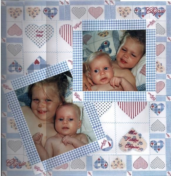 <p>Voici les pages de l'album de L&eacute&#x3B;a avec sa petit soeur Zo&eacute&#x3B;</p>