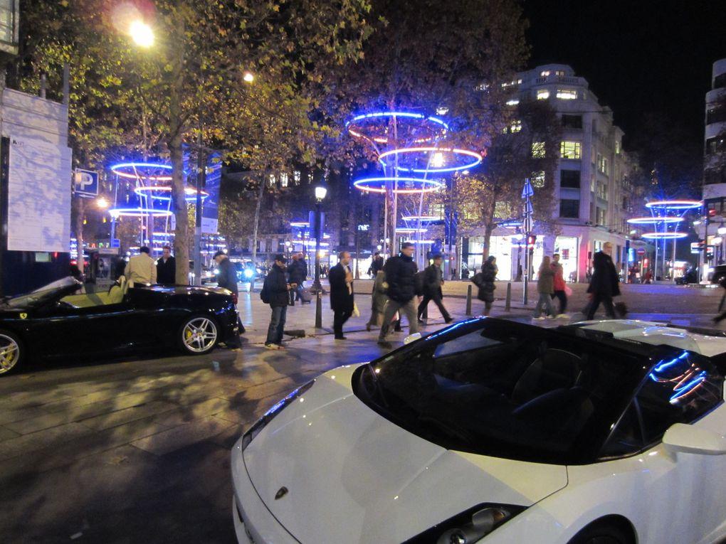 ParisPrintemps, Galeries Lafayette... Champs-Elysées, Illuminations 2012Photos: Emmanuel CRIVAT 2011