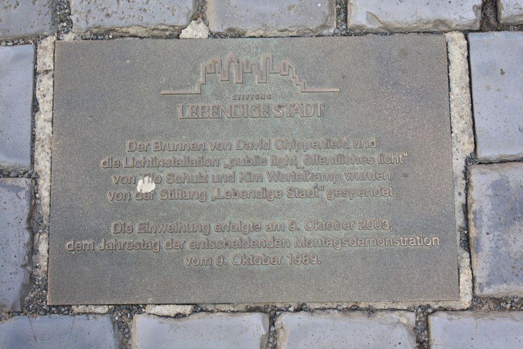 La foire de Leipzig,Le Gewandhaus de Leipzig,Oper Leipzig,Goethe et l'Auerbachs Keller,Altes Rathaus,Quartier «Waldstraßenviertel»,Monument à la Bataille des Nations (NAPOLEON 1813),Photos: Emmanuel CRIVAT 2011