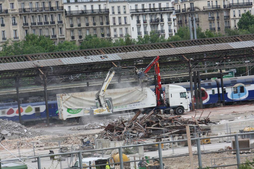Site Clichy Batigtnolles - Démolitions, déconstructionsPhotos:©Emmanuel.CRIVAT 2009-2011