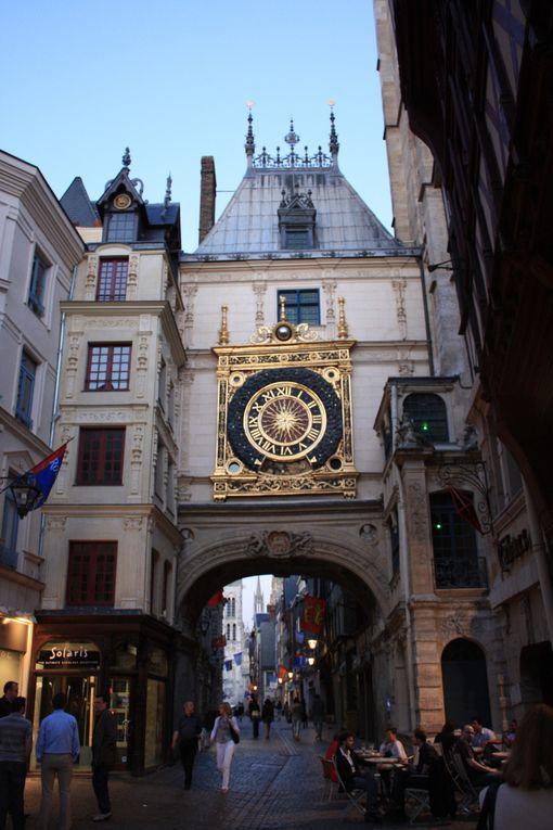 La Cathédrale primatiale Notre-Dame de l'Assomption, Le Gros-Horloge... des monuments emblématiques de la ville de Rouen le 2 juin 2010Photos: Emmanuel CRIVAT