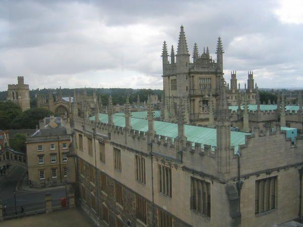 La ville d'Oxford, Comté d'OxfordRoyaume-UniPhotos: Emmanuel CRIVAT (08/2006)