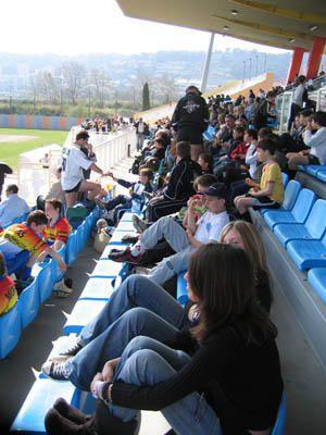 Le rugby se relance &agrave&#x3B; Nice, un tournoi de jeunes du grand sud.