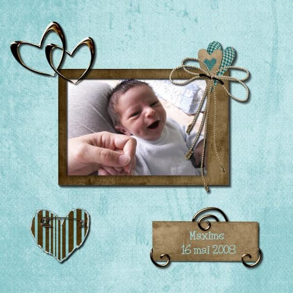 Album - Pages Digiscrap