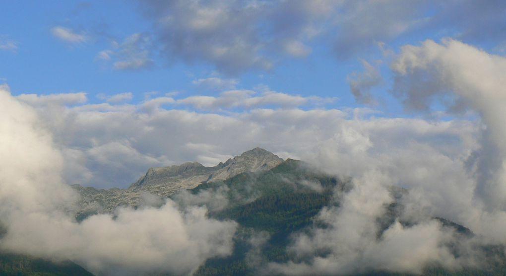 Photos du Val Pelouse, du vallon des Ferices, du Grand Chat alors que le mauvais temps s'en va.