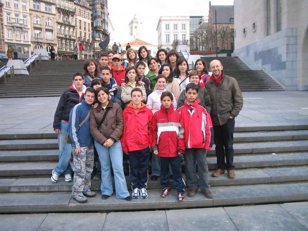 Photos de Bruxelles et de Paris prises pendant l'&eacute&#x3B;change scolaire fait avec Gournay Sur Marne