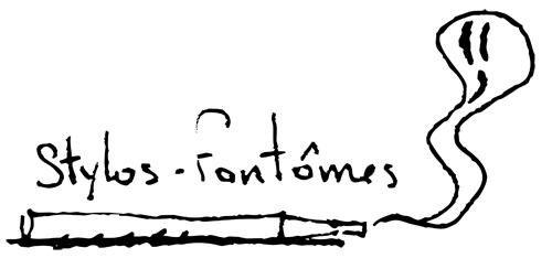 """<p>Travail réalisé à l'occasion du festival """"Les nuits de champagne"""" (octobre 2006). Le thème:""""Les choses de la vie"""", et la contrainte était que la réalisation devait tenir dans une boite. Pour ma part, les stylos-fantomes représentent ma"""