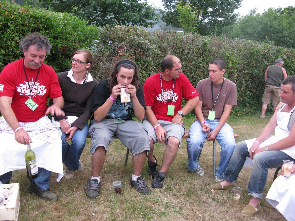 Bénévoles de Carentoir- Guer- La Moraie